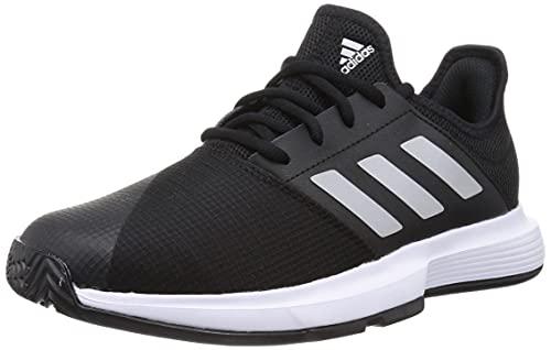 adidas GameCourt M, Zapatillas Deportivas Hombre, NEGBÁS/Plamat/FTWBLA, 43 1/3 EU