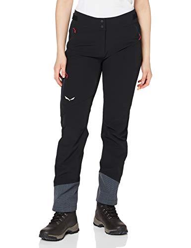 Salewa Ortles 2 DST W PNT - Pantalon pour Femme, Couleur Noir, Taille 48/42