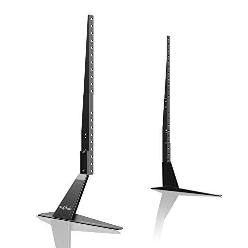 Suptek Universal TV Ständer für 26-55 Zoll LED LCD LCD Flachbildfernseher Fernseher Tisch Standfuß Fernsehtisch TV Halterung Fernsehstand ML1760