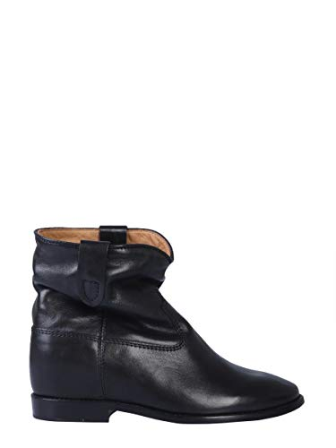Luxury Fashion   Isabel Marant Dames BO010400M104S01BK Zwart Leer Enkellaarzen   Herfst-winter 19