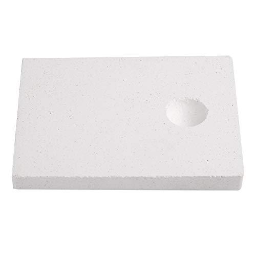 Déflecteur thermique de brique réfractaire, brique réfractaire isolante doutil de fabrication de bijoux pour la fusion de bijoux thermique de soudure