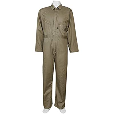 Highliving Mens Boiler Suit Overall Coverall Work wear Mechanics Student Cotton