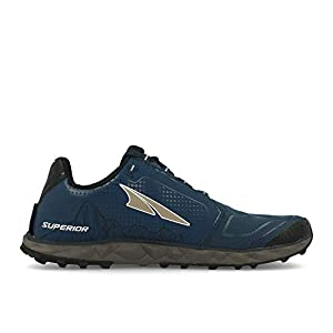 ALTRA Men's AFM1953G Superior 4 Trail Running Shoe, Blue/Gray - 9.5 D(M) US