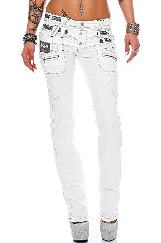 Cipo & Baxx Damen Jeans cbw0245ba W29/L30