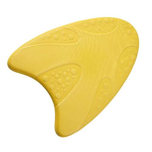 Tabla de natación de la tabla de patada, EVA Kick Board Niños Adultos Tratamiento de borde antideslizante para un mejor agarre, 123, size, Amarillo