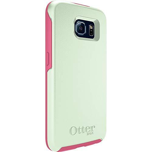 Otterbox Symmetry - Funda para Samsung Galaxy S6, Color Verde y Rosa