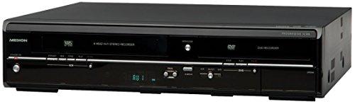 MEDION LIFE E70004 (MD 83425) Dig. DVD- & Videorecorder (Kopierfunktion, Xvid, MPEG, HDMI, 6-Kopf HiFi-Stereo Videorecorder) schwarz