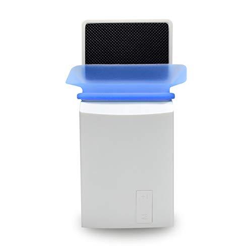 Laptop-Lüfter-Kühler mit Temperaturanzeige, schneller Abkühlung, automatischer Temperaturerkennung, 13 Windgeschwindigkeiten, perfekt für Gaming-Laptops-White