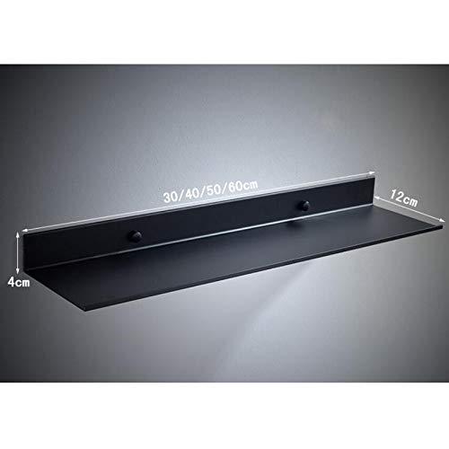 Dongyd Estantes del baño Cocina Estante de Pared Ducha Rack de Almacenamiento Accesorios 30-60cm Longitud Negro (Tamaño : 30cm): Amazon.es: Hogar