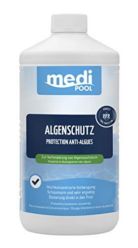 Medipool Schwimmbadpflege Algenschutz, 1 Liter, Weiß