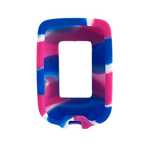 Freestyle Libre Gel Skin Case: Soft Silicone Cover to Protect The Freestyle Libre and Libre II (Pink/Blue/White)