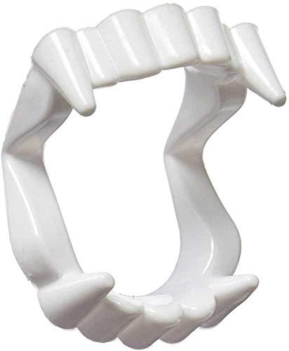 Dientes para disfraz de vampiro - drcula - disfraces de mujer para nios - halloween - carnaval - crepsculo - color blanco - fosforescente - hombre - nios - idea de regalo original twilight