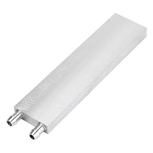 Aluminium waterkoelblok, CPU waterkoelsysteem voor pc Computergrafiek Heatsink endotherme kop (40 * 160 * 12 mm)