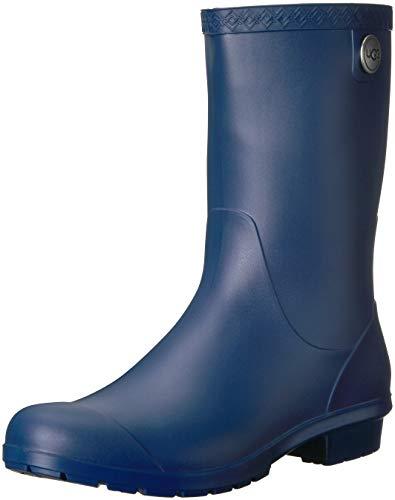 UGG Women's Sienna Matte Rain Boot, Blue Jay, 11 M US