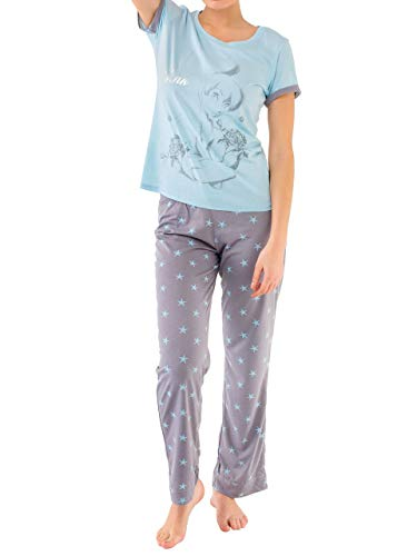 Disney Tinkerbell - Pijama para Mujer - Campanilla - Large