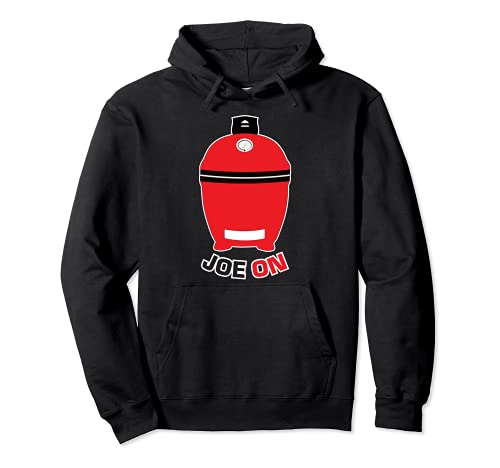 Joe ON Red BBQ Grilling Low and Slow Kamado Charcoal Grill Pullover Hoodie