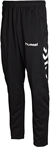 Hummel Polyester Pants Team Player Polyester Pant Black 10 Jahre (140 cm)
