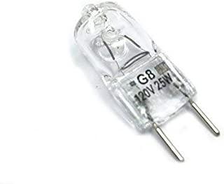Vstar G8 120V 25W Halogen Light Bulbs,3000K(10 Pcs)