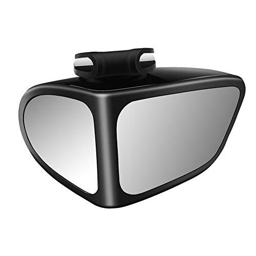 iSpchen Auto Toter Winkel Spiegel, 2 in 1 361 Grad Rotation Blindspot Spiegel Totwinkel Einstellbarer Weitwinkel Konvex Rückspiegel Hilfsspiegel für PKW SUV LKW Weitwinkelspiegel Zusatzspiegel