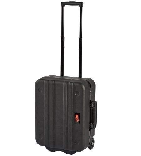 Gt-Line N.M. Wheelspel Werkzeugkoffer, aus Polyethylen mit elastischem Gewebe, 453 x 345 x 185 mm, Schwarz
