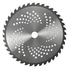 Disco para desbrozadora 255 mm – Dientes n.º 40