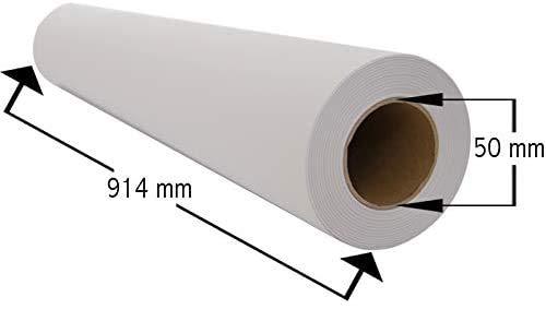 Plotter Plotterpapier 91,4 cm x 50 m 90...