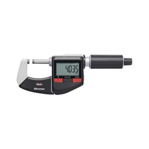Mahr 4157010 Micromar 40 ER - Micrómetro digital (rango de 0-25 mm)