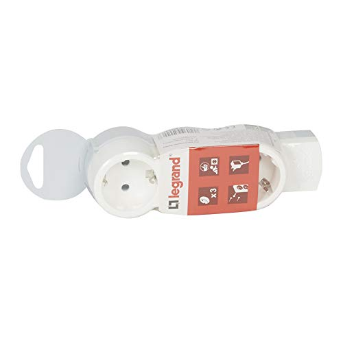 Bases múltiples 3x2P+T sin cable (Legrand 695004)