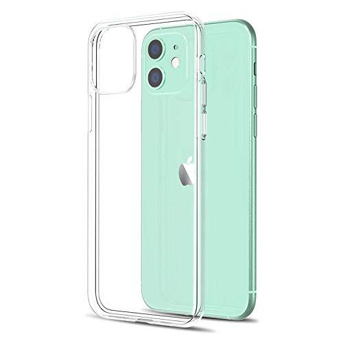 Custodia per telefono ultra sottile trasparente per iPhone 11 7 Custodia morbida in silicone per cover posteriore per iPhone 11 12 Pro XS Max X 8 7 6s Plus 5 SE Custodia XR, A, per iphone 7