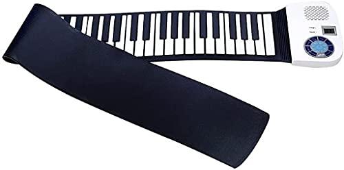 FEFCK 88-Key Rollup Klavier Tastatur Mit Stereo-Lautsprechern Und 128 Tönen /...