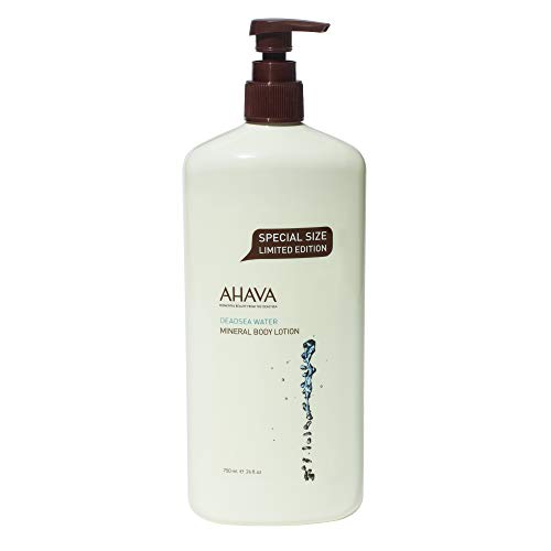 AHAVA Mineral Body Lotion, Original, 24 Fl Oz