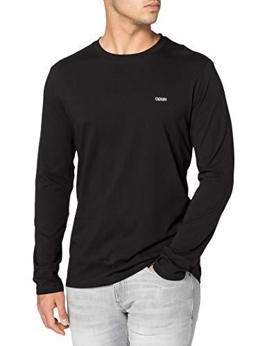 HUGO Herren Derol212 T-Shirt, Black1, XL