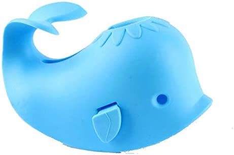 Bath Spout Cover for Bathtub - Faucet Baby Covers Protects Baby During Bathing Time While Being Fun. Cute Soft Whale ...