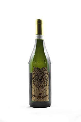 Vino Rosso e Bianco in Bottiglia da 0,75lt del produttore LEBŌN Prodotto in Provincia di Cuneo Vendemmia a Mano (Moscato DOCG, Vino Bianco)