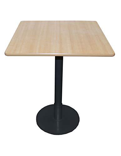 Mesa de restaurante Expo Table Plinth, cocina comedor, bar, mesa de café con base de metal