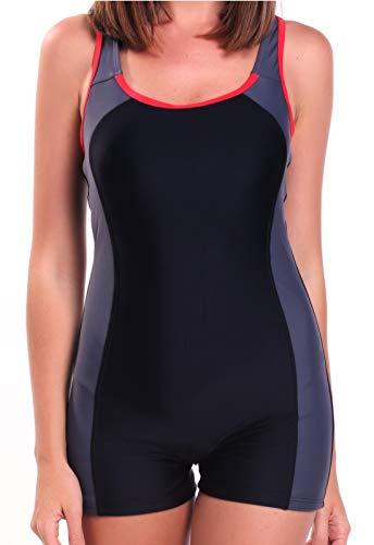 INSTINNCT Bañador Mujer Trajes de Baño Profesional Alta Elasticidad UV Protección vx270
