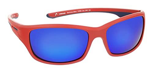 HEAD Gafas de sol deportivas para hombre con protección UV 400, 60-17-125 - 13006, Modelo 1,