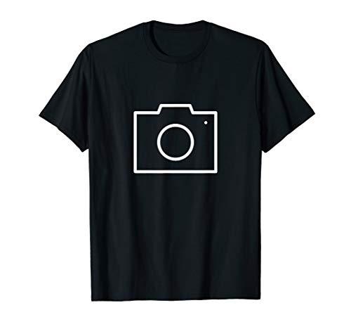 Ich bin Photograph! Kamera Emoji T-Shirt