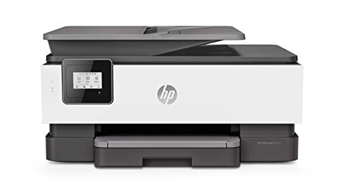 HP OfficeJet Pro 8012 Stampante Multifunzione a Getto di Inchiostro, Scanner e Fotocopiatrice, ADF, Wi-Fi, Wi-Fi Direct, Smart Tasks, App Smart, 2 Mesi di Servizio Instant Ink Inclusi, Grigio