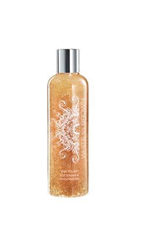 WHITE to BROWN Body Skin Polish. Pre Self Tanning Application Skin Exfoliating Primer, 250ml