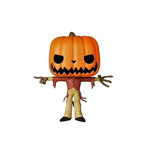 Lotoy Funko Pop Movies : The Nightmare Before Christmas : Pumpkin King 3.75inch Vinyl Gift for Anime Fans(Without Box) Model