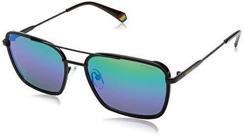 Polaroid PLD 6115/S lunettes de soleil, Blue GRN, 56 Homme