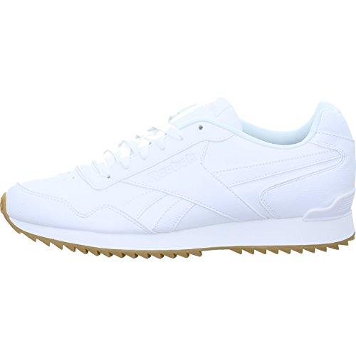 Reebok Royal Glide Rplclp, Zapatillas Hombre, Blanco (White/Gum), 45 EU