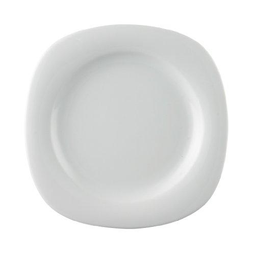 Rosenthal 17005-800001-10223 Suomi New Generation - Frühstücksteller/Kuchenteller/Dessertteller - Porzellan - weiß - Ø 23 cm