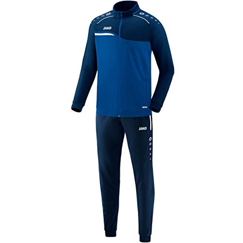 JAKO Herren Competition 2.0 Trainingsanzug Polyester, royal/Marine, L