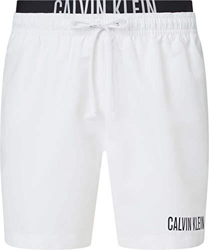 Calvin Klein Medium Double WB Baador para Hombre, Pvh Classic Blanco, M