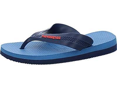 Havaianas MAX, Chanclas Unisex Niños, Azul (Navy Blue/Blue Star/White 0718), 33/34 EU