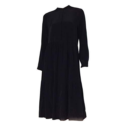 OPUS Damen Werani Uni Kleid, Black, 40