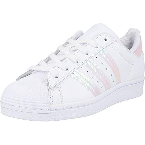 adidas Jungen Superstar J sneakers, White, 37 1 3 EU