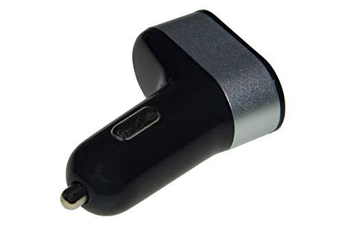 Link Cargador de Coche de 3 Puertos USB 5 V Total 5,1 A Negro
